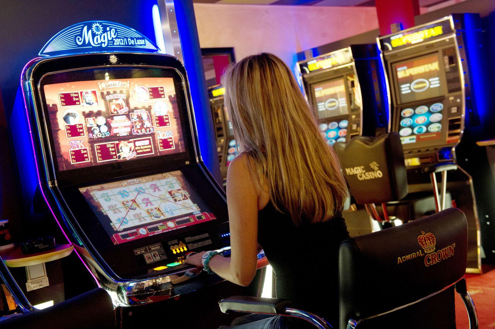Spielhalle/ Spielautomat