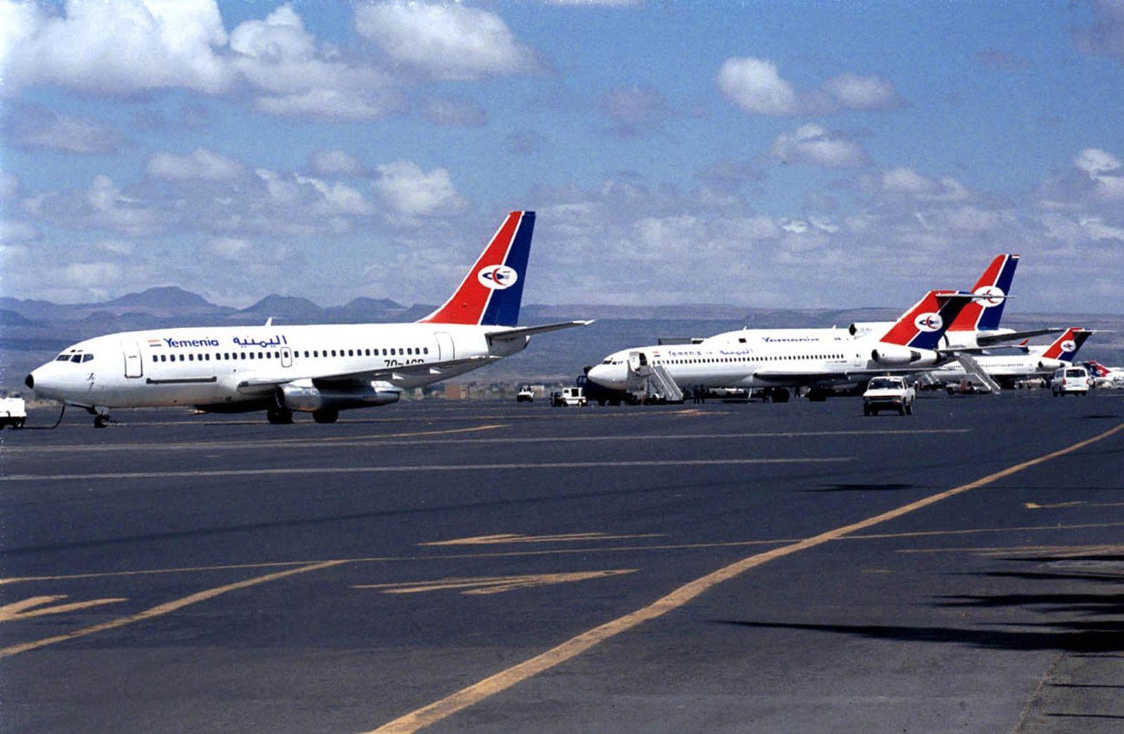 Yemen Air Flugzeuge