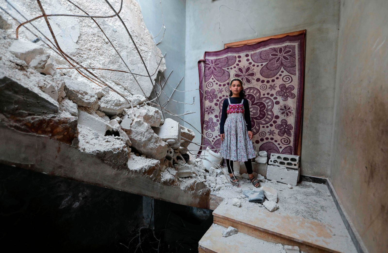 TOPSHOT-SYRIA-CONFLICT-DISPLACED-HEALTH-VIRUS