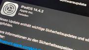 Apple schließt gefährliche Sicherheitslücke