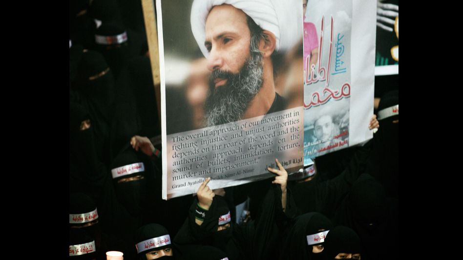 Schiitischer Protest in Saudi-Arabien (Archivbild): Waffen aus Deutschland gegen Demonstranten