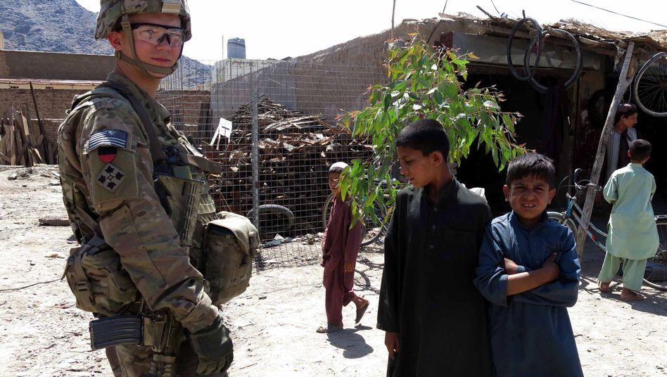 US-Nato-Soldat in Kandahar: 10.000 sollen noch in Afghanistan bleiben