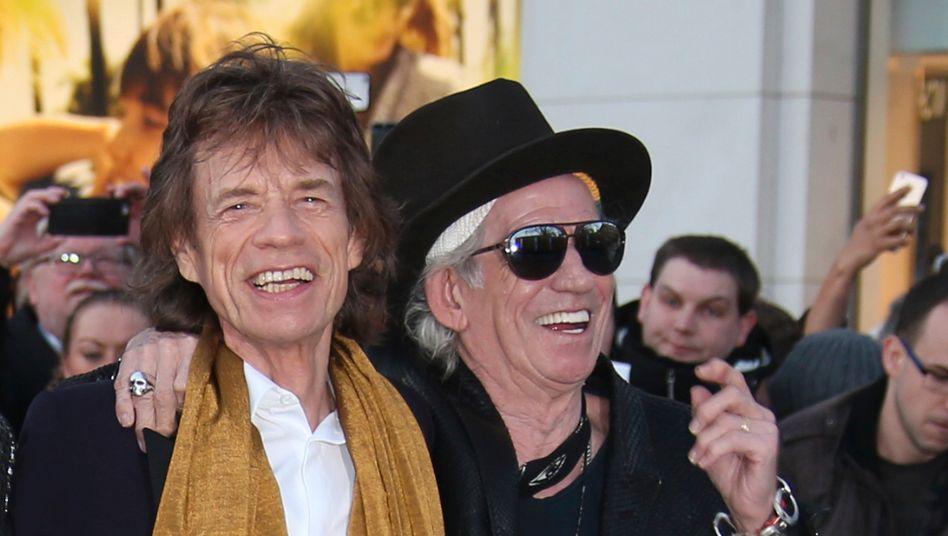 """Keith Richards (r.) über Mick Jagger: """"In den meisten Zeiten ist er mein Freund"""""""