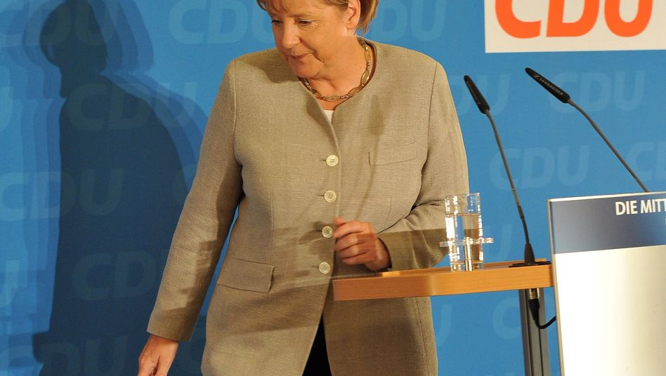 CDU-Chefin Merkel: Debatten über Stärke der Parteiflügel