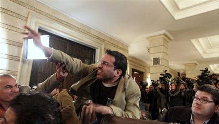 Montazer al-Zaidi: Der große Wurf