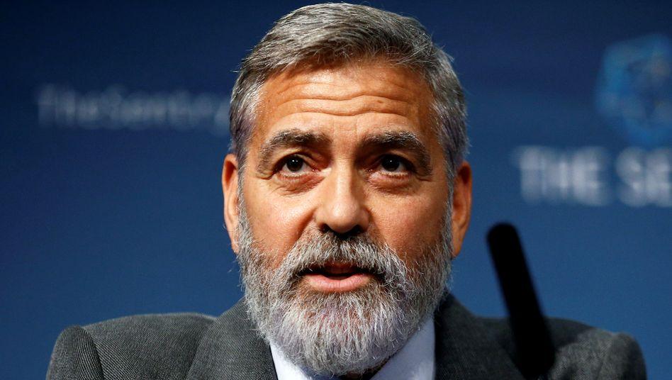 Hollywood-Schauspieler George Clooney
