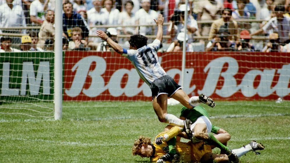 """Argentinien-Deutschland 1986: """"Ich war stinksauer"""""""