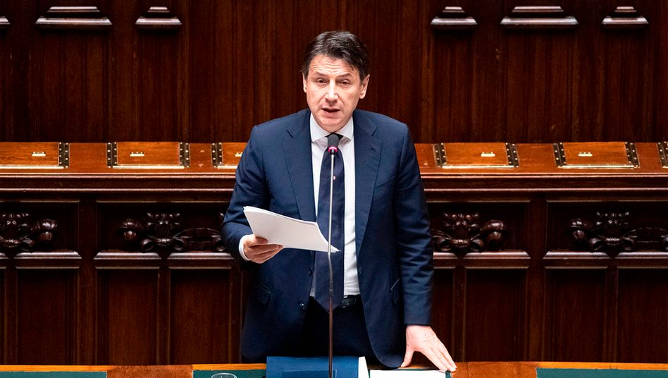 Italiens Premierminister Giuseppe Conte: Hilfen aus dem Rettungsfonds ESM lehnt das Land ab