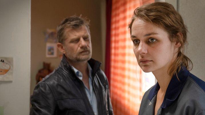 Luise Heyer als Sabine: riskanter Auftritt, würdevoll absolviert