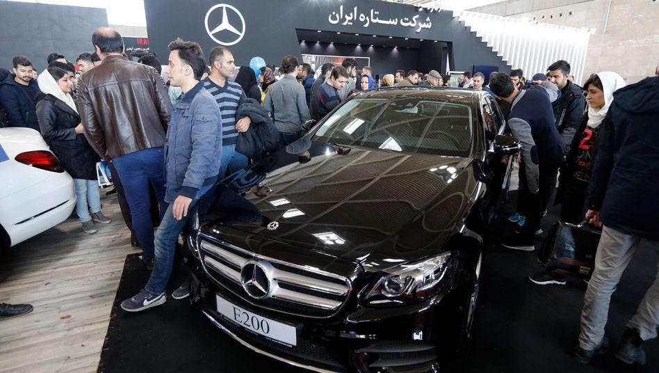 Automesse in Teheran (2017)