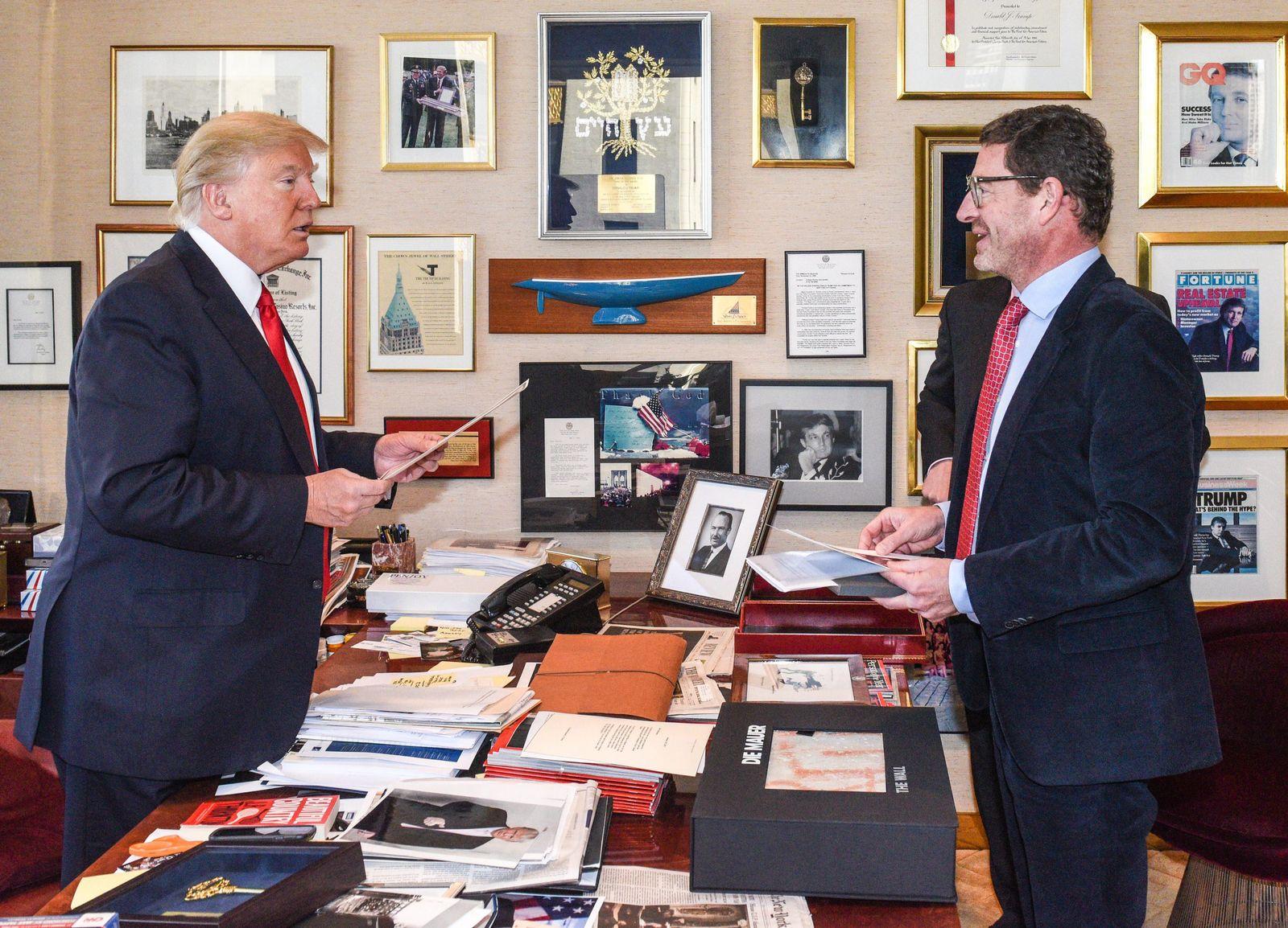 Donald Trump& Kai Diekmann