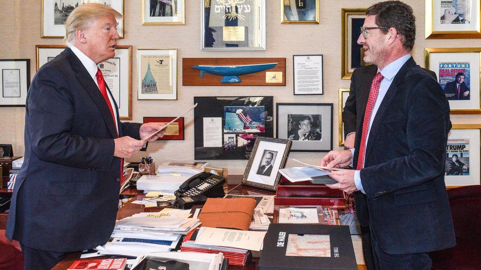 Donald Trump, Kai Diekmann