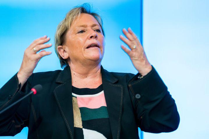 """CDU-Herausforderin Susanne Eisenmann: """"Mit niemand anderem gerechnet"""""""