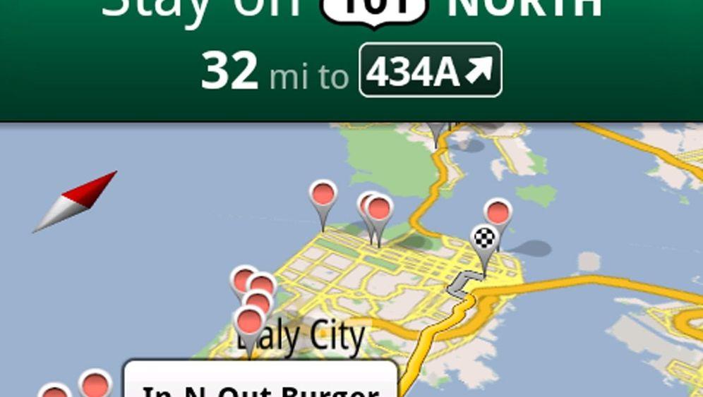 Navi-Software von der Suchmaschine: Google Maps Navigation