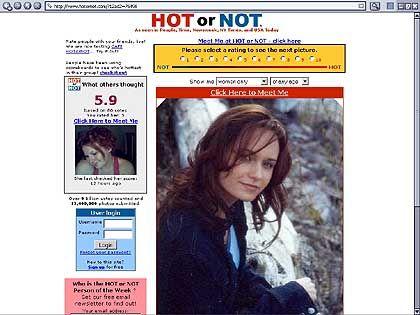 """""""Hot or Not"""": Noten für Menschen, Dates für Einsame"""