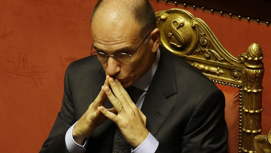 Premier Letta im Senat: Spannung vor der Vertrauensfrage