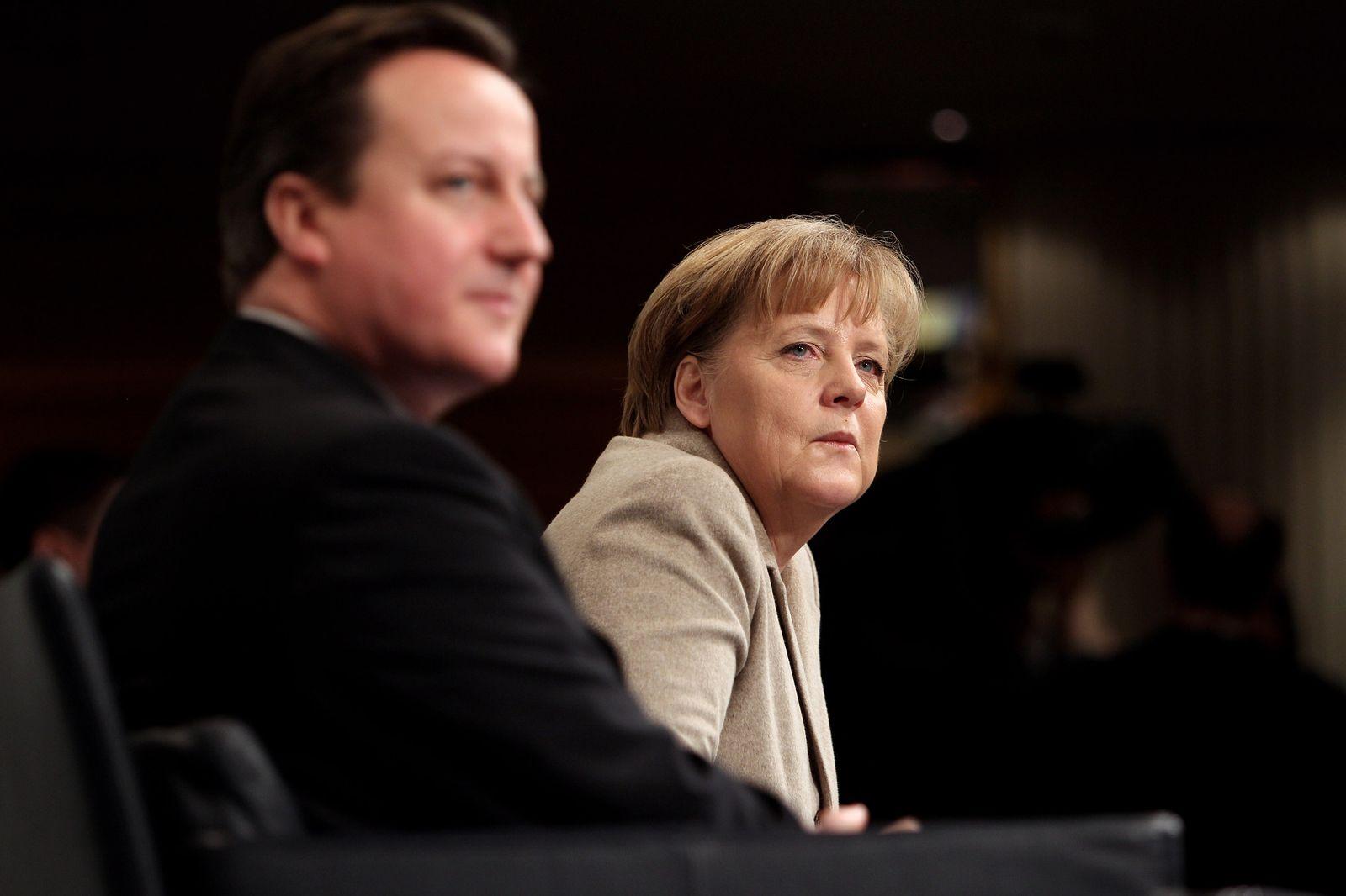 Cameron/ Merkel