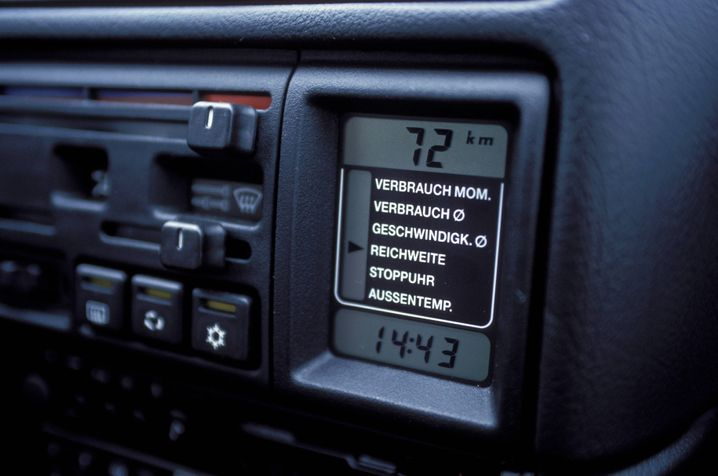 Bordcomputer im Opel Calibra