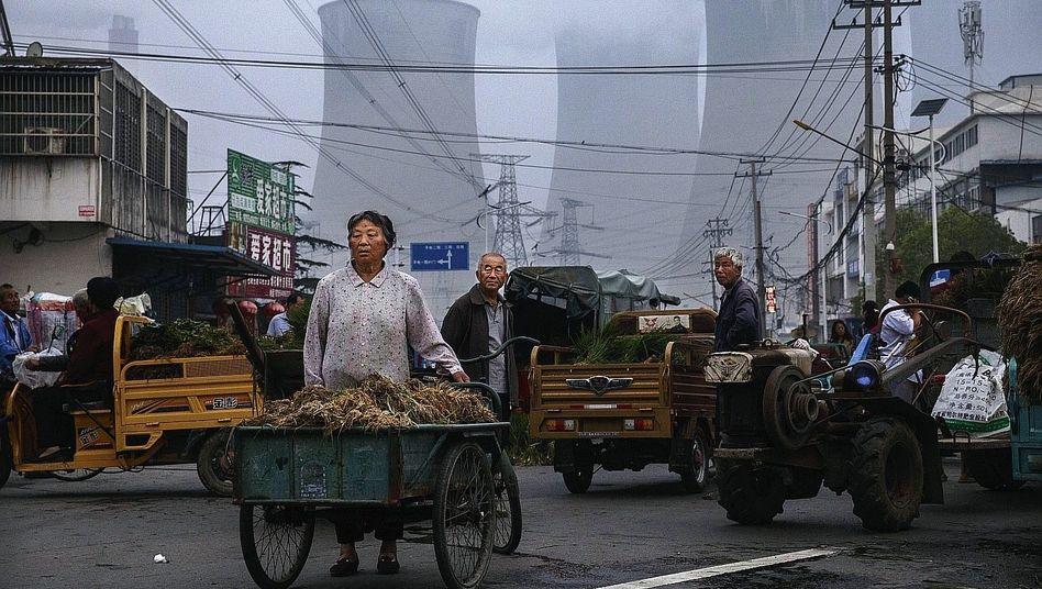 Kraftwerk im chinesischen Huainan: Ehrgeizige Pläne wieder kassiert