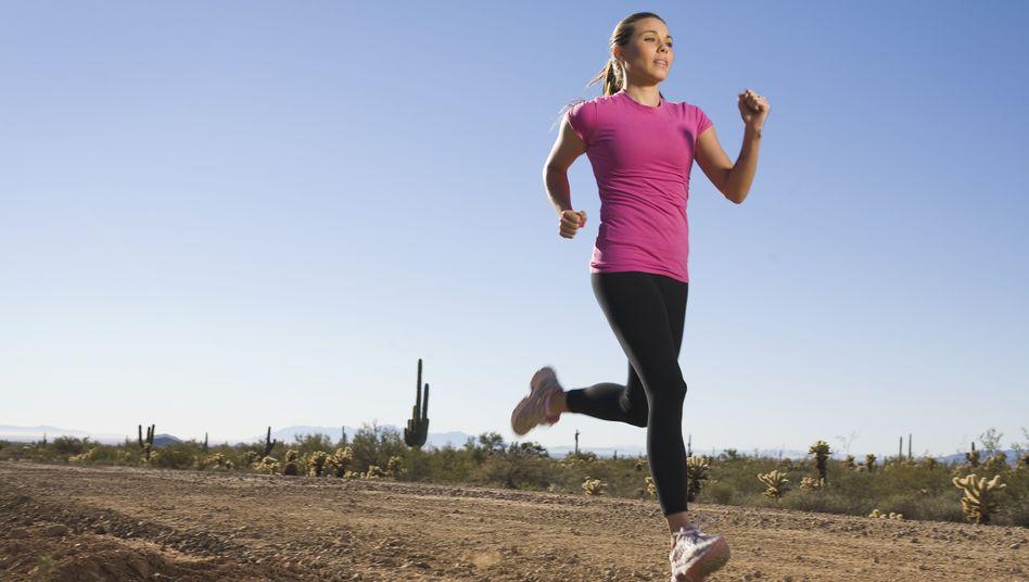 Keine Ausrede für Sport: Joggen trotz Periode