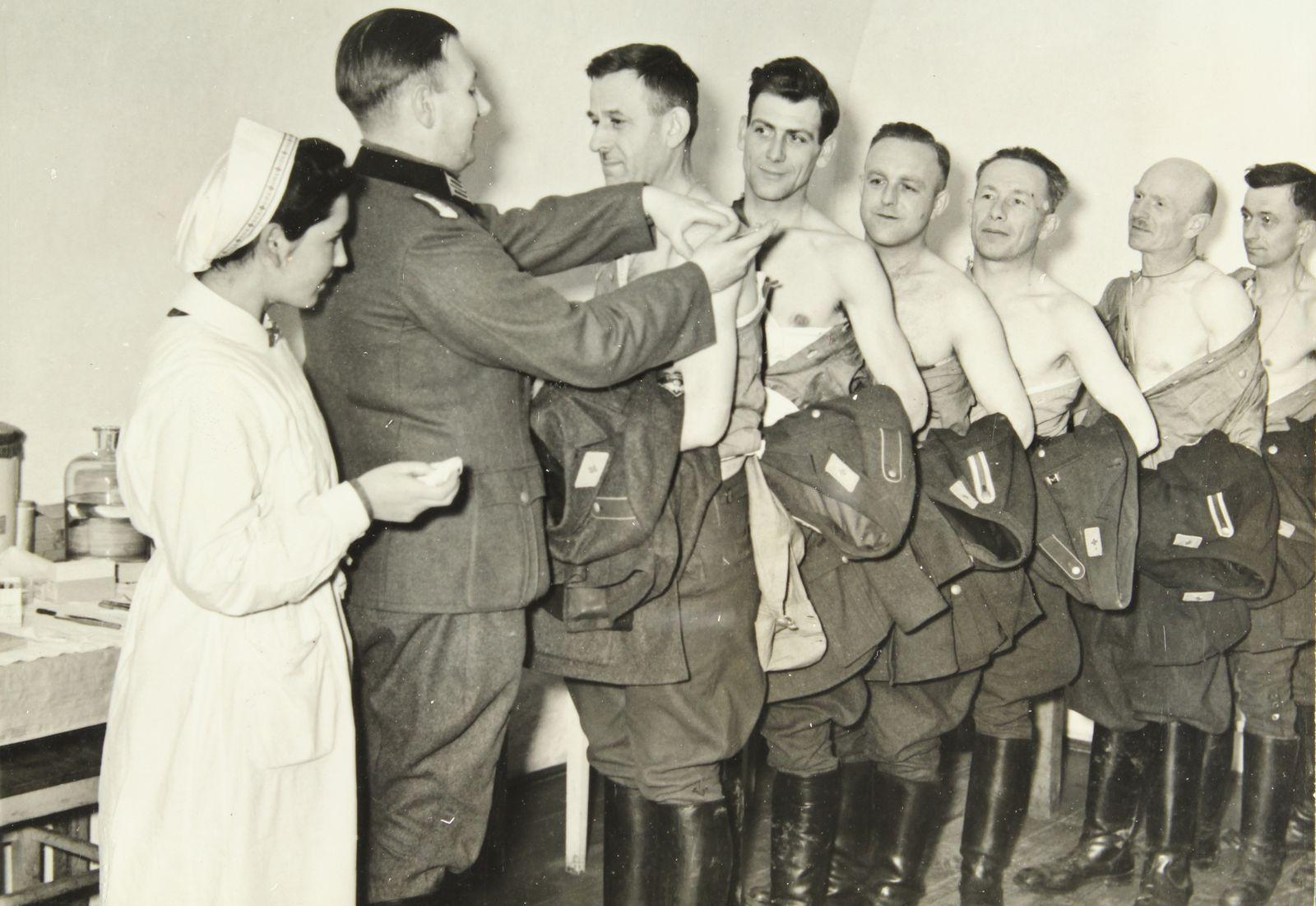 Impfung von Soldaten