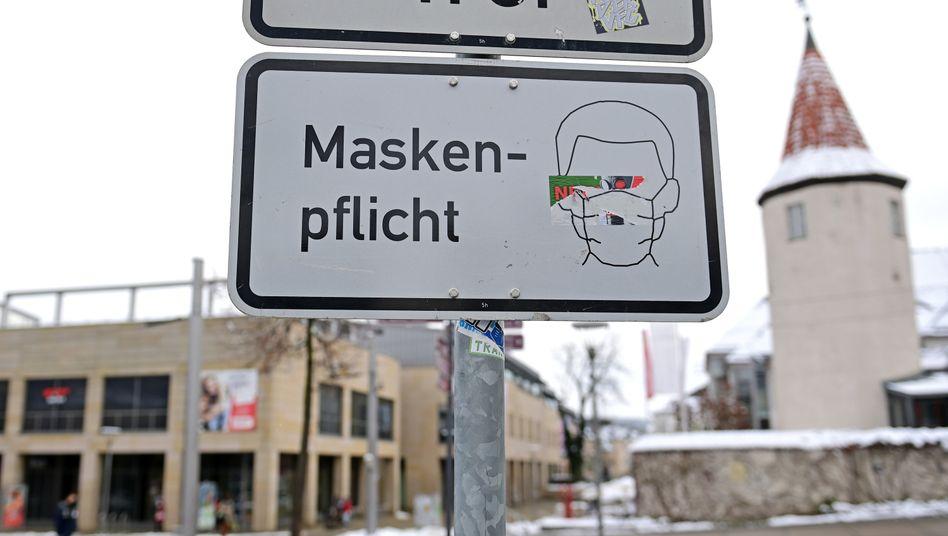 Maskenpflicht in Plauen, Sachsen