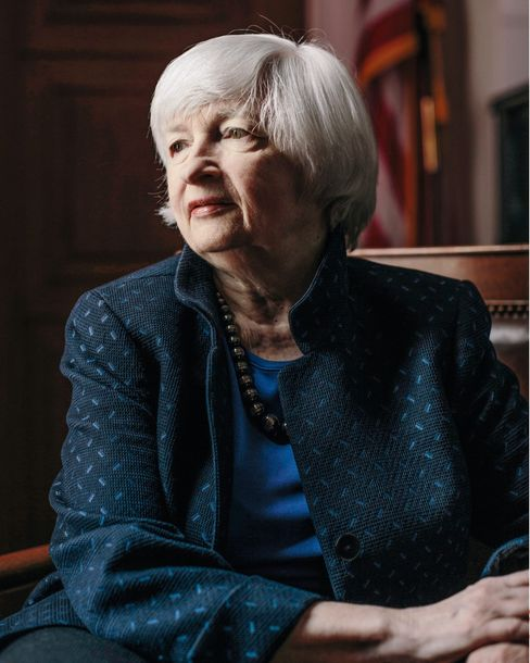 "U.S. Treasury Secretary Janet Yellen: ""We want to change the game."""