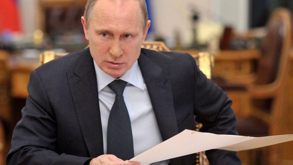 """Putin im Kreml: """"Staatsduma tanzt nach seiner Pfeife"""""""