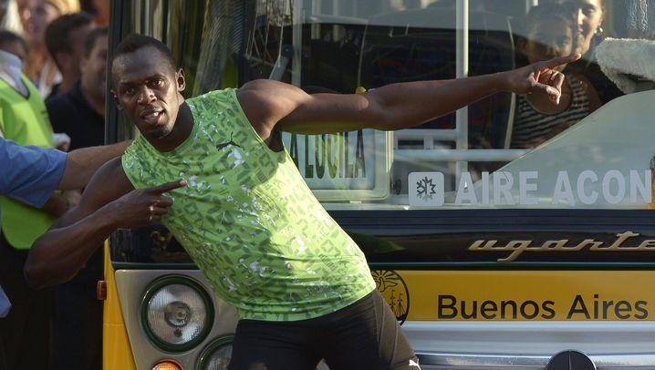 Usain Bolt: Schneller als ein Bus