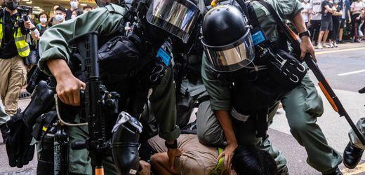Hongkong: Proteste gegen neues Sicherheitsgesetz aus Peking