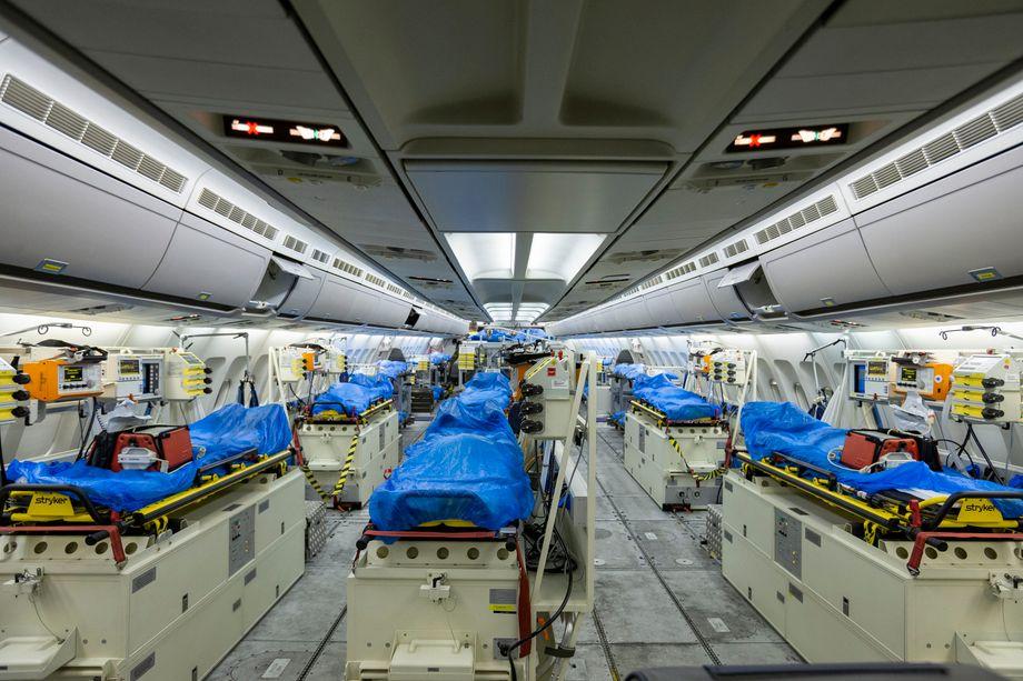 Airbus A310 MedEvac der Bundeswehr: So sieht die fliegende Intensivstation von innen aus