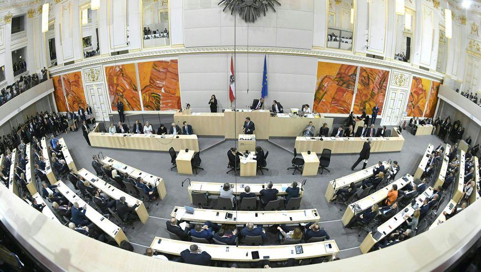 Österreichischer Nationalrat (Archivbild)