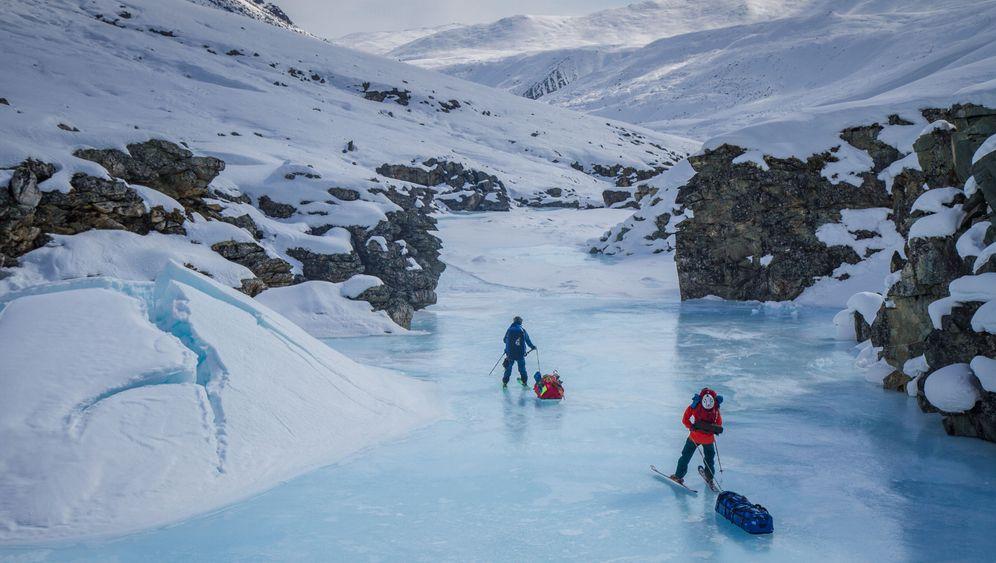 Gora Pobeda: Ski-Expedition in Sibirien