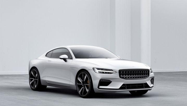 Neue Marke Polestar: Mit diesen Elektroautos will Volvo Tesla angreifen