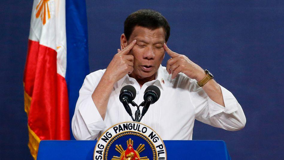 Rodrigo Duterte (Archivbild)