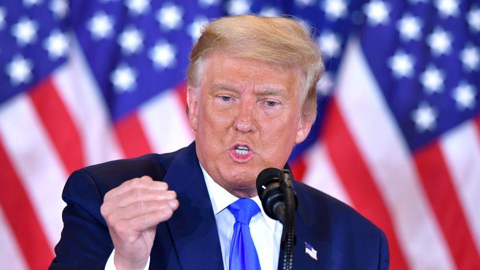 """US-Präsident Trump in Washington: """"Sehr trauriger Moment für mich"""""""
