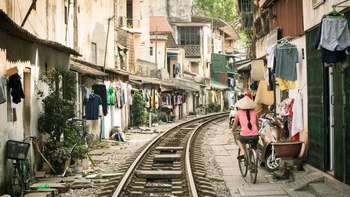 #hanoitrainstreet: Der Selfie-Spot von Hanoi