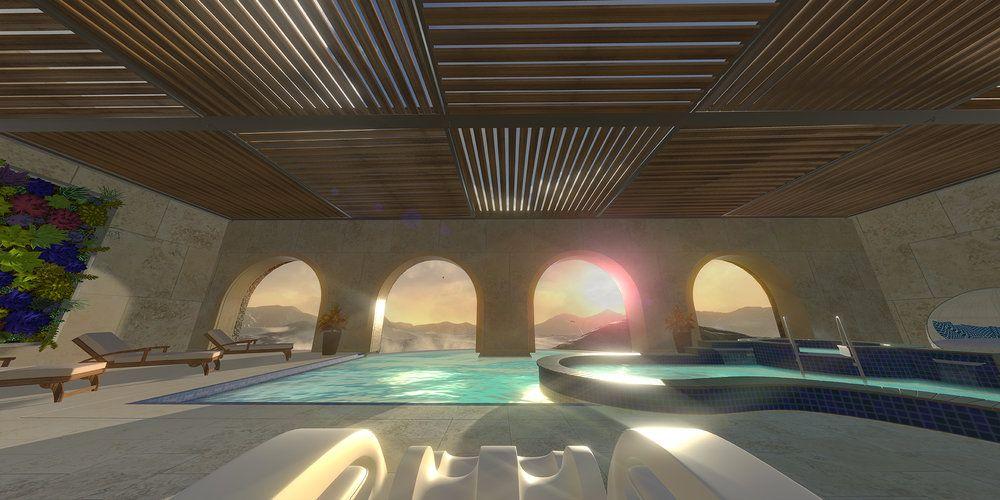 EINMALIGE VERWENDUNG Desert Spa Screen