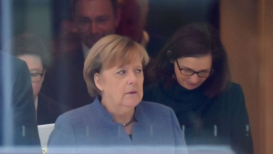 Merkel, Jamaika-Sondierer