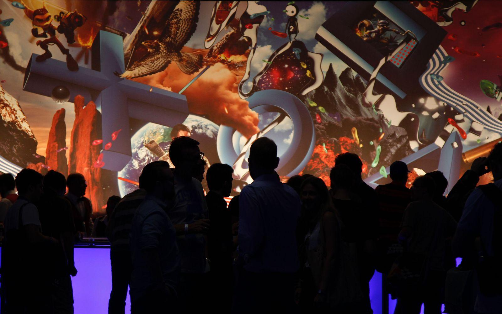 NICHT VERWENDEN Gamescom Köln / Games Convention