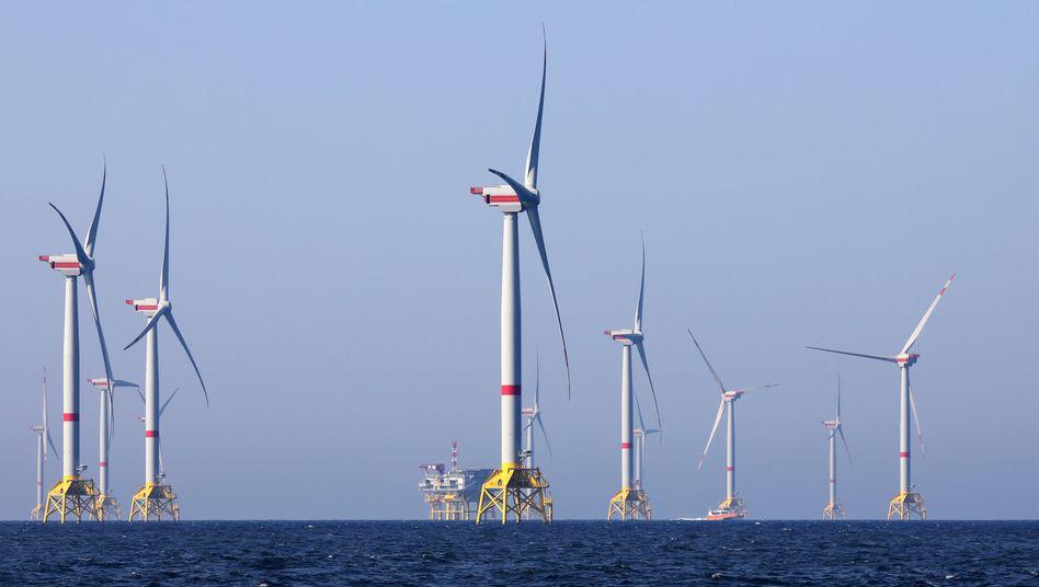 Bundesregierung erhöht Ausbauziel für Windkraft auf See