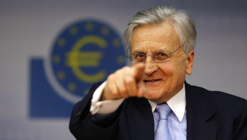 """EZB-Chef Trichet: """"Ein von Unsicherheit geprägtes Umfeld"""""""