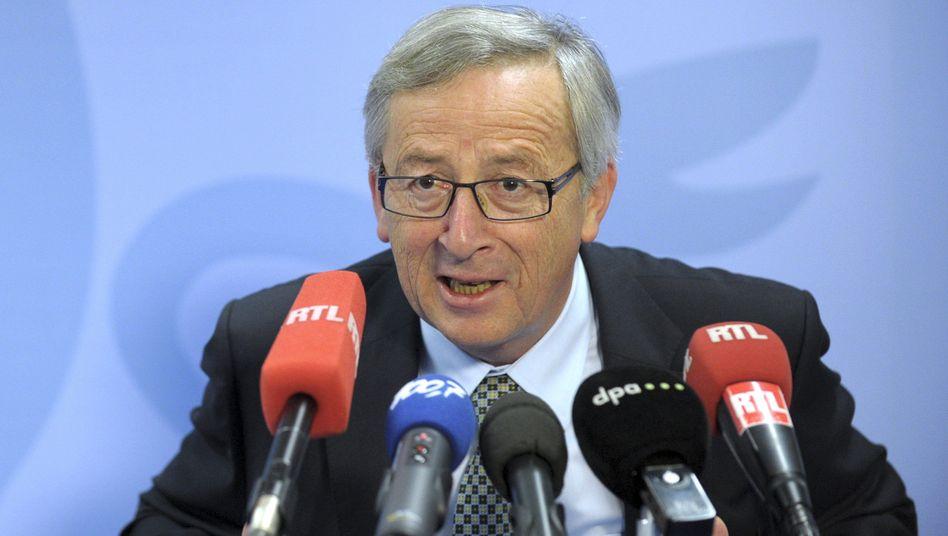 Politiker Juncker (im Juni 2013): Schwieriger Termin im Parlament