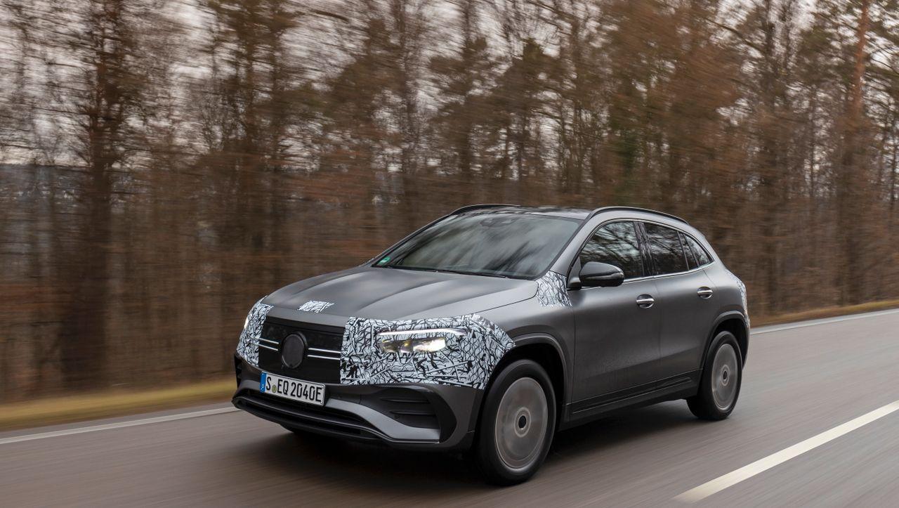 Autogramm: Mercedes EQA: Still ruht das E - DER SPIEGEL