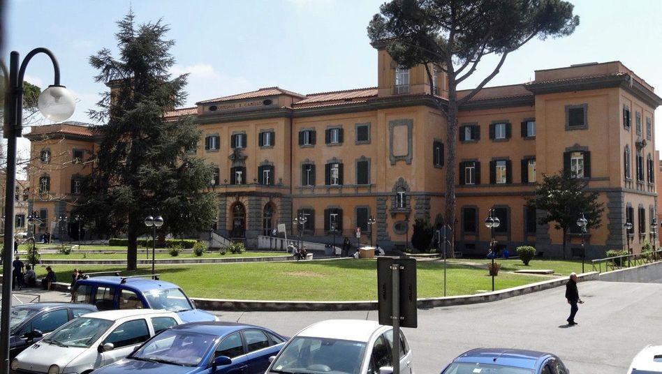 Krankenhaus San Camillo in Rom ist eines der wenigen italienischen Krankenhäuser, das Abtreibungen vornimmt