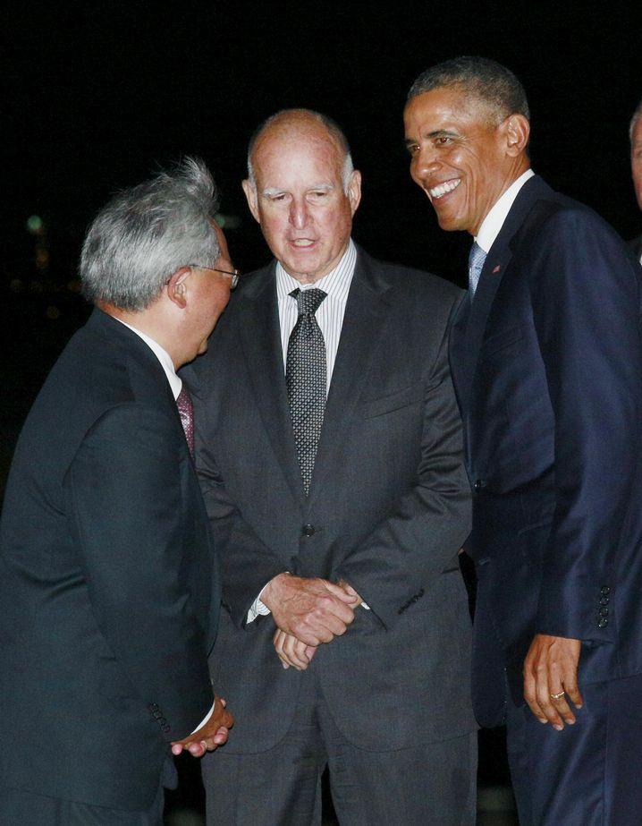 Brown (M.) 2015 mit Barack Obama