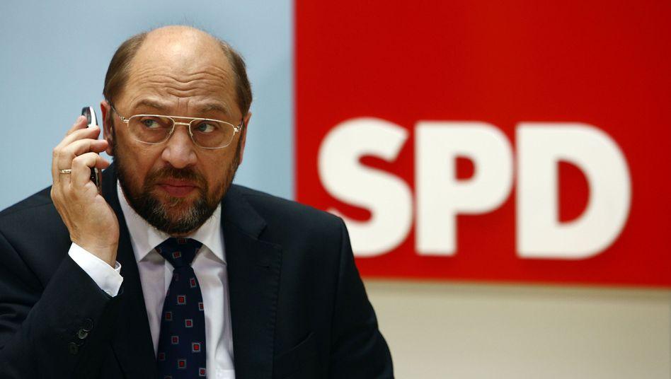 """SPD-Europaparlamentarier Martin Schulz: Junckers Vorschlag nicht """"vom Tisch wischen"""""""