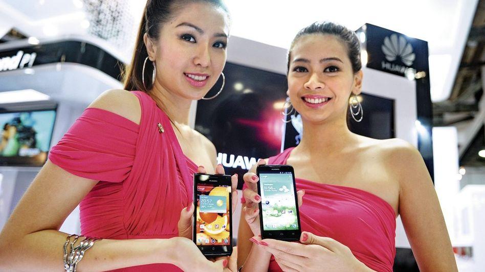 Huawei-Handy-Präsentation: Auf dem Weg von der Masse zur Klasse