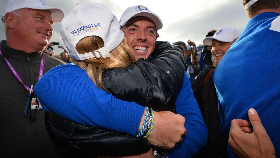 Rory McIlroy: Gerade den Ryder Cup gewonnen
