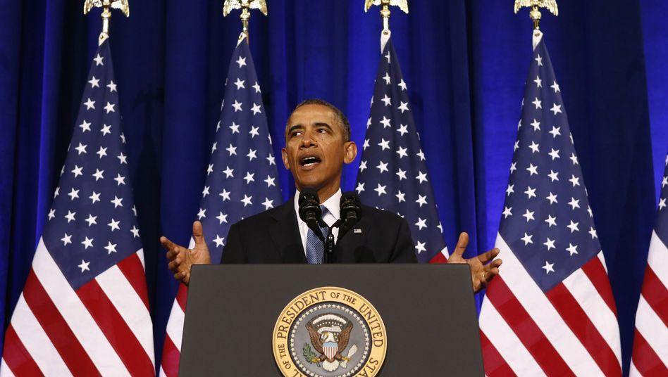 Obamas NSA-Rede: Kleine Reform für den großen Bruder